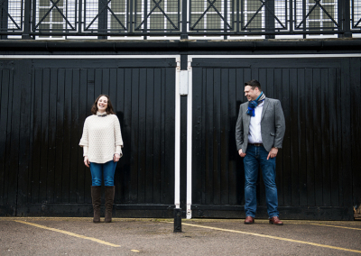Helen and Chris: Bedford Embankment