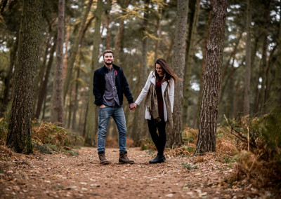 Sophie & WIll: Engagement shoot, Chicksands.