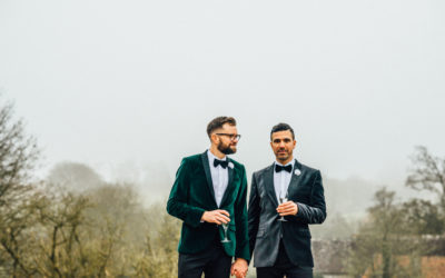 Huntsham Court House: Mat & Gary