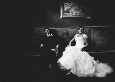Fawsley Hall: classic, clean, edgy wedding