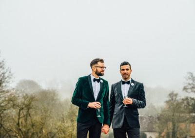 Huntsham Court, Devon: slick, classy, manor house wedding