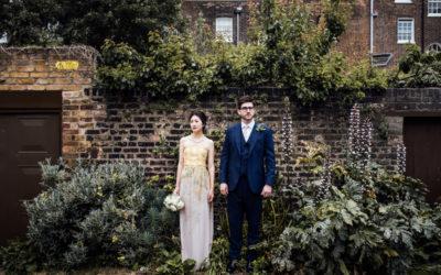 Camberwell; registry office and pub wedding