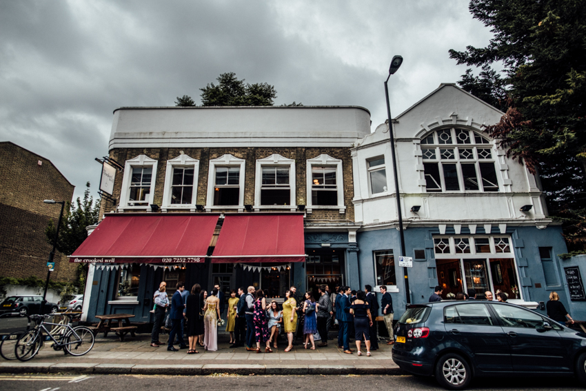 The Crooked Well Camberwell wedding
