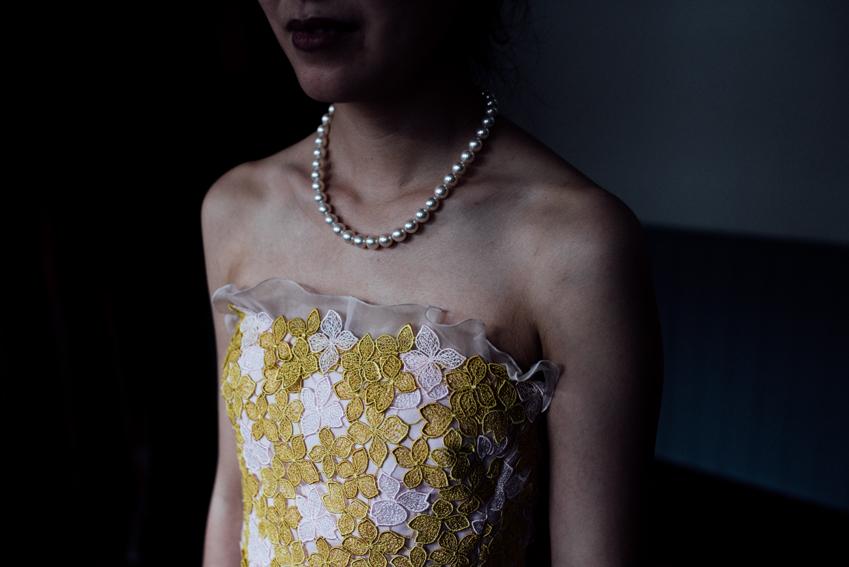 bride pearls
