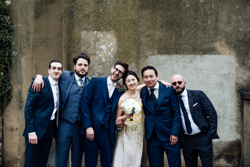 The Crooked Well, Camberwell wedding bridal party