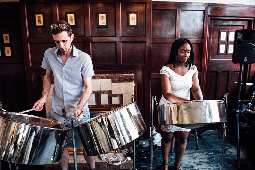 Steel band London wedding
