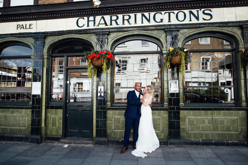 Prince Albert Pub London wedding